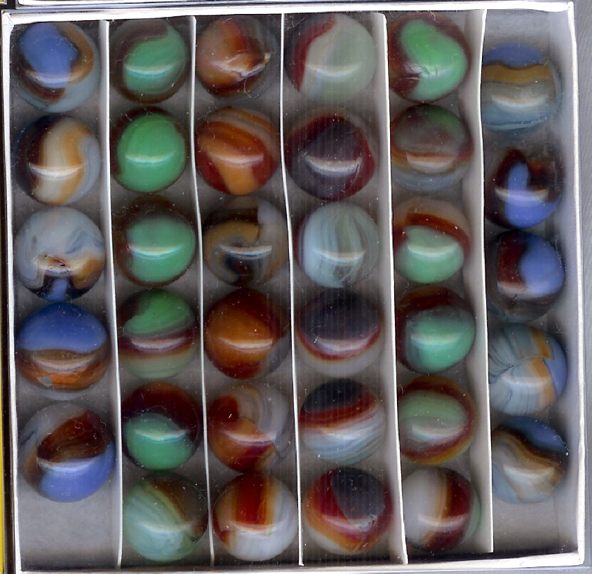 Box of Vitro Bullseyes