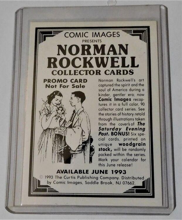 Saturday Evening Post Collectors Card (1993) - Al - Side 2.JPG