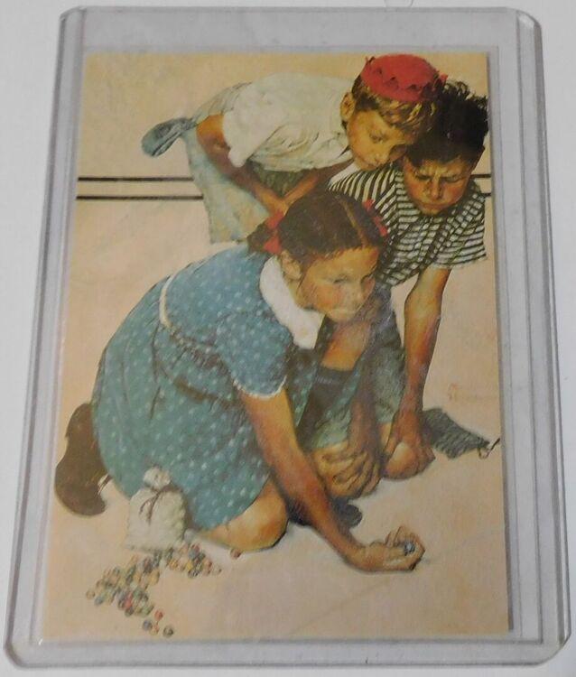 Saturday Evening Post Collectors Card (1993) - Al - Side 1.JPG